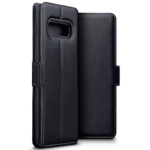 Terrapin Cases Terrapin Samsung Galaxy S10 Plus Low Profile Genuine Leather Wallet Case - Black