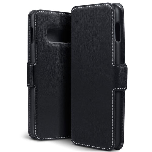 Terrapin Cases Terrapin Samsung Galaxy S10e Low Profile PU Leather Wallet Case - Black