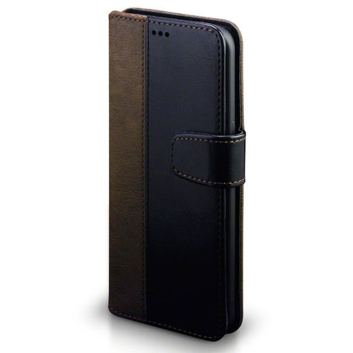 Terrapin Cases Terrapin Samsung Galaxy S8 Plus Faux Leather Wallet Case with Stand Function - Black / Brown
