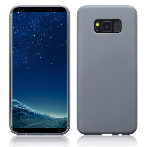 Terrapin Cases Terrapin Samsung Galaxy S8 Plus TPU Gel Case - Solid Grey Matte