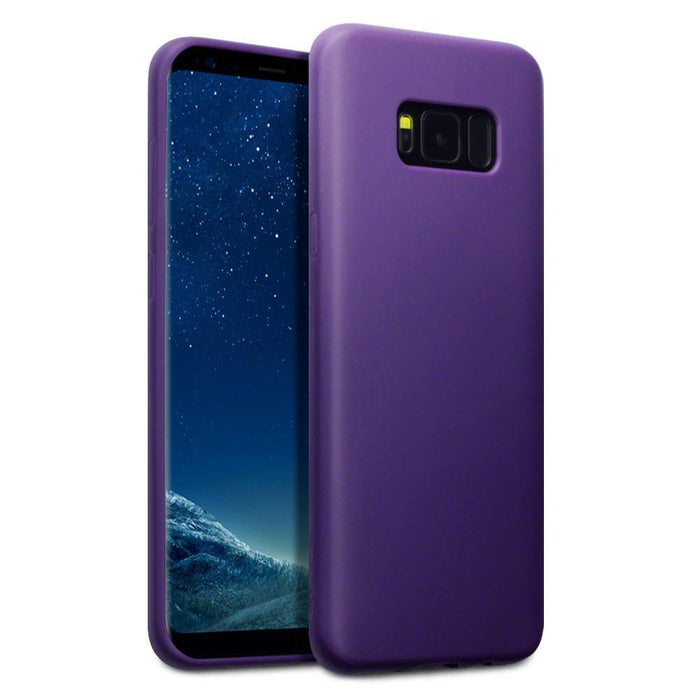 Terrapin Cases Terrapin Samsung Galaxy S8 Plus TPU Gel Case - Solid Purple Matte