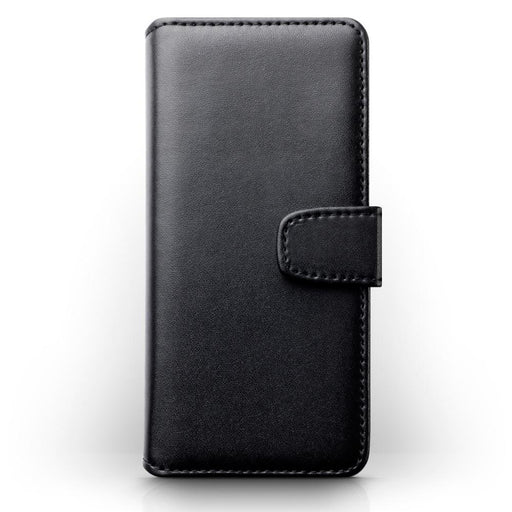 Terrapin Cases Terrapin Samsung Galaxy S9 Real Leather Wallet Case - Black