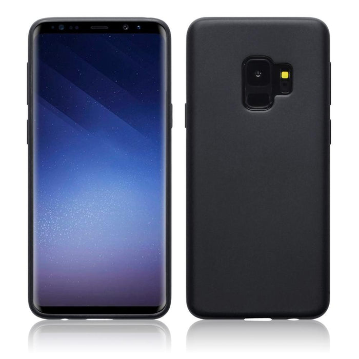 Terrapin Cases Terrapin Samsung Galaxy S9 TPU Gel Case - Solid Black Matte