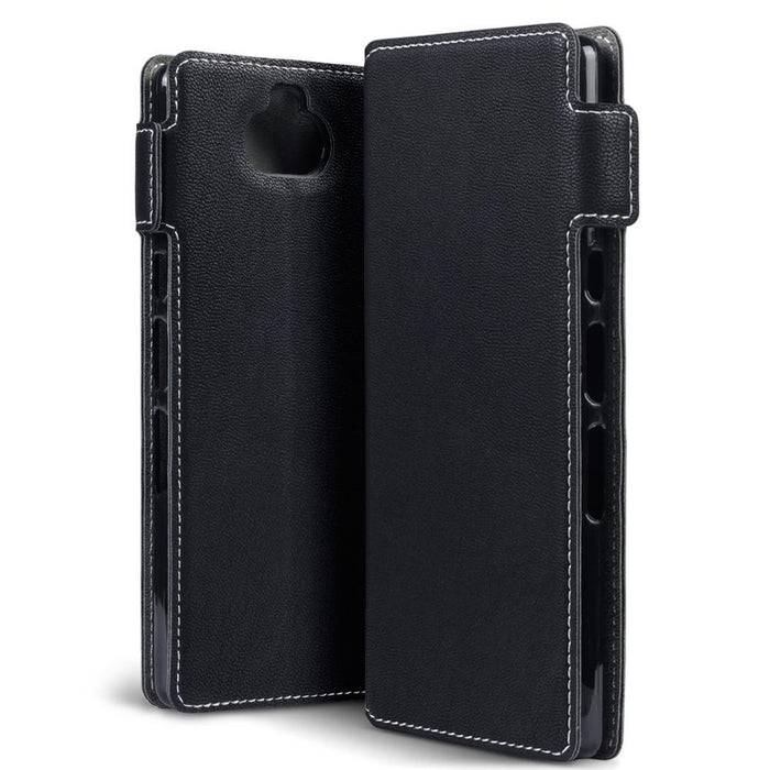 Terrapin Cases Terrapin Sony Xperia 10 Low Profile PU Leather  Wallet Case - Black
