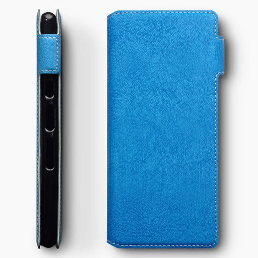 Terrapin Cases Terrapin Sony Xperia 10 Low Profile PU Leather  Wallet Case - Blue