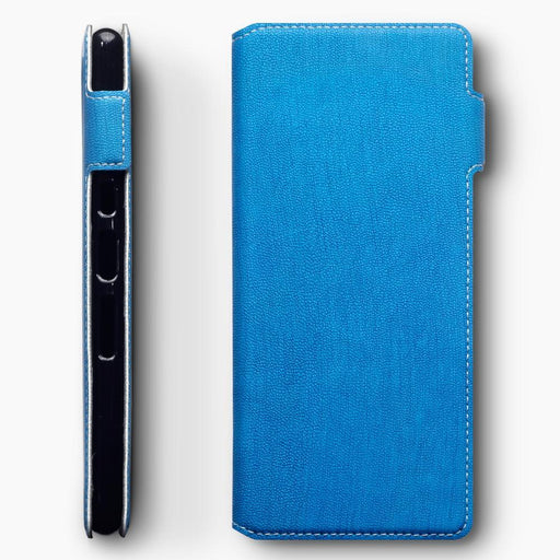 Terrapin Cases Terrapin Sony Xperia 10 Plus Low Profile PU Leather  Wallet Case - Blue