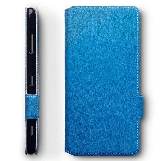 Terrapin Cases Terrapin Sony Xperia XZ3 Low Profile Faux Leather Wallet Case - Light Blue