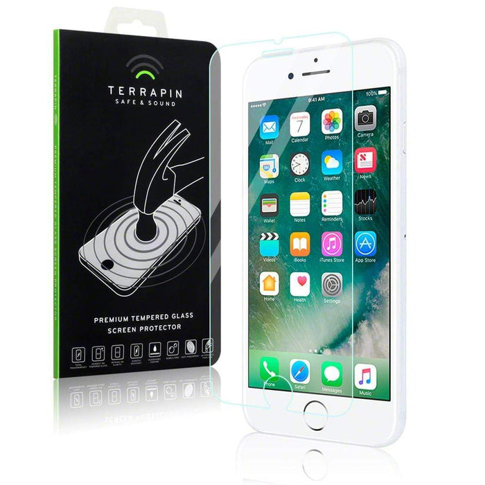 the best attitude 844af 53e4d Terrapin Apple iPhone 8/7 Tempered Glass Screen Protector