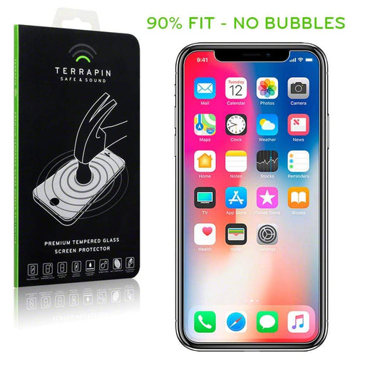 Terrapin Screen Protection Terrapin Apple iPhone X/XS Tempered Glass Screen Protector