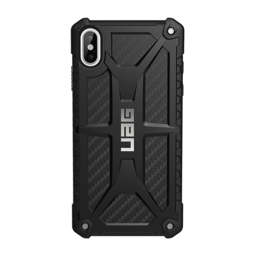 UAG Cases UAG Urban Armor Gear Apple iPhone XS Max Monarch Case - Black Carbon Fiber