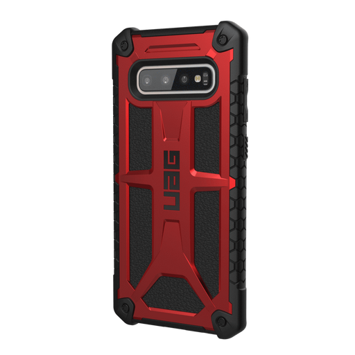 UAG Cases (UAG) Urban Armor Gear Samsung Galaxy S10 Plus Monarch Case - Crimson