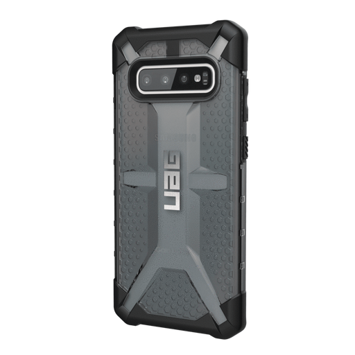 UAG Cases (UAG) Urban Armor Gear Samsung Galaxy S10 Plus Plasma Case - Ash