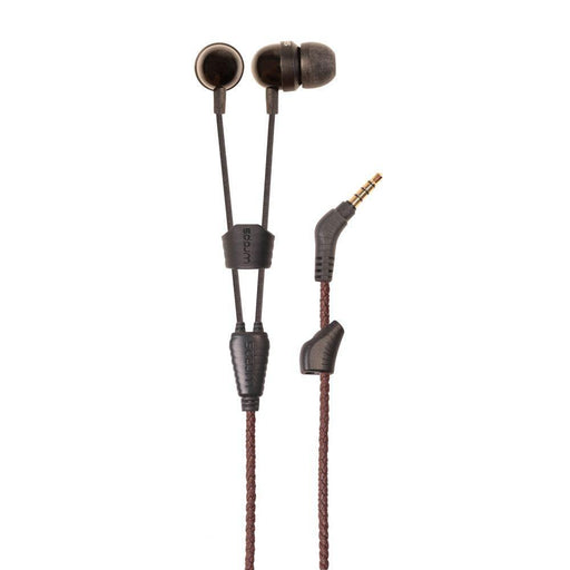 Wraps Earphones Wraps Leather Earphones in Brown