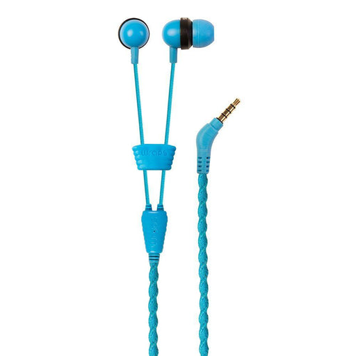 Wraps Earphones Wraps Talk Edition Earphones in Blue