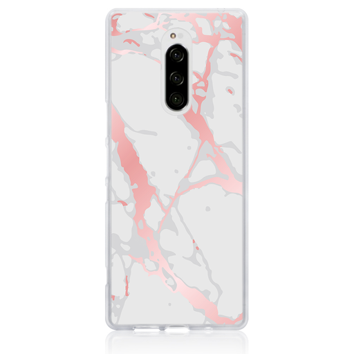 Marble Floss Phone Case - Sony Xperia 1 by Case Hut