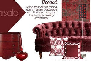 Matching the Luxury Decorative Pillows -The Everlasting Beads