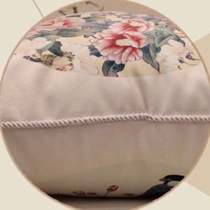 "White Bird Round Printing Pillow 18""X18"" - G Home Collection"