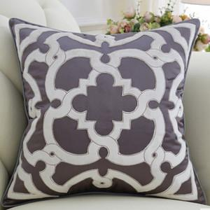 "Purple Moroccan Floral Pillow 20""X20"" - G Home Collection"