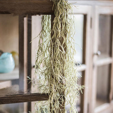 "Rustic Artificial Spanish Moss Vines 42"" Long - G Home Collection"