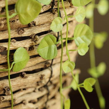 "Rustic Artificial Small Green Leaf Vines 32"" Long (Set of 3) - G Home Collection"