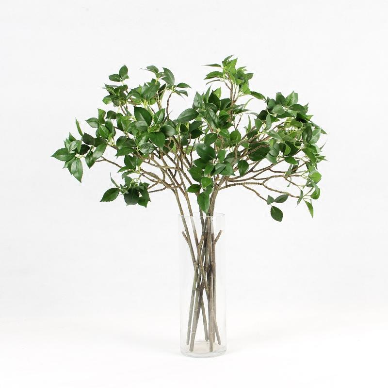 "Artificial Dogwood Leaf Stem 25"" Tall - G Home Collection"