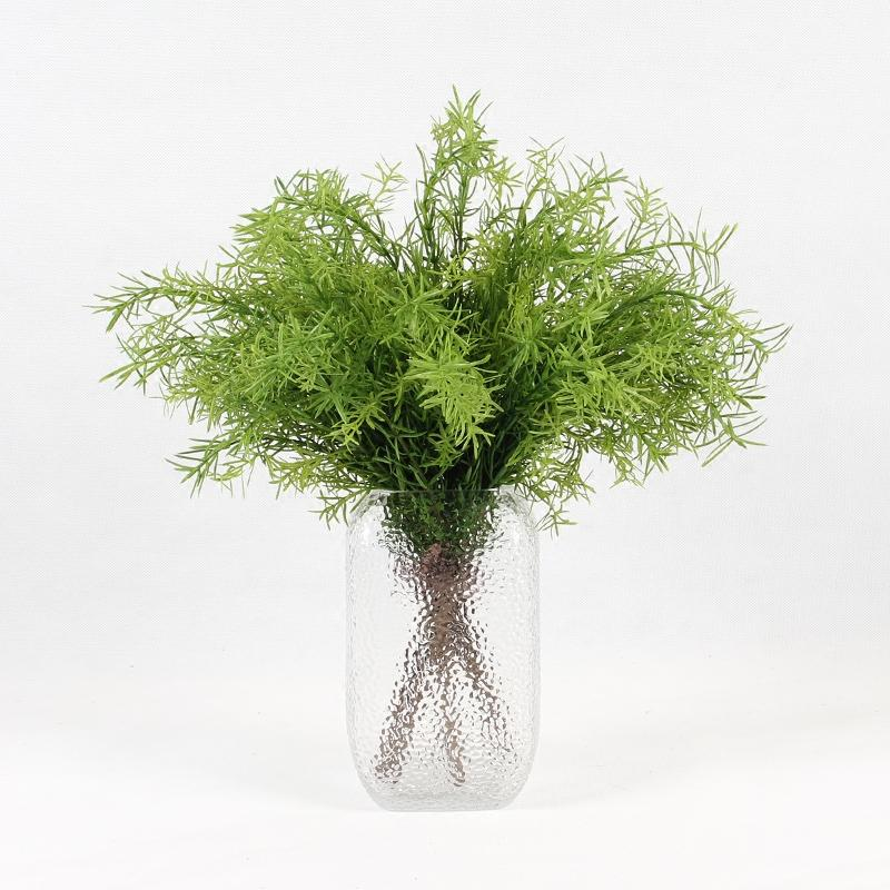 "Artificial Tropical Green Fern Stem 14"" Tall - G Home Collection"