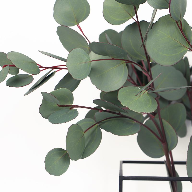 "Artificial Eucalyptus Round Leaf Stem 28"" Tall - G Home Collection"