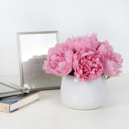 Pink Peony Flower Arrangement - G Home Collection