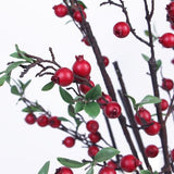 Artificial Pomegranate Fruit in Red 41