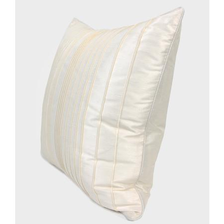 "White Striped Textured Pillow 20""X20"" - G Home Collection"
