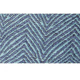 Blue Chevron Jacquard Pillow 20