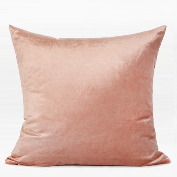 "Pink and Pink Marble Two Color Pillow 18""X18"" - G Home Collection"