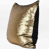 Gold and Black Sequins Pillow 16