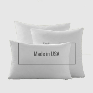 "Polyester Woven 12"" X 20"" Pillow Insert - Gentille Home Collection - 1"