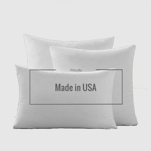 "Down Feather 12"" X 20"" Pillow Insert - G Home Collection"