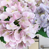 Real Touch Hydrangea Stem in Light Purple and Light Pink 24