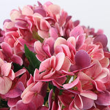 Real Touch Hydrangea Stem in Pink 24