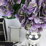 Real Touch Hydrangea Stem in Purple 24