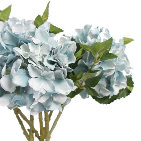 Rose and Green Hydrangea Flower Arrangement