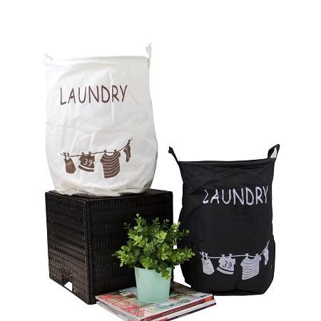 Kids Horse Fabric Laundry and Toy Storage Basket (Set of 3)