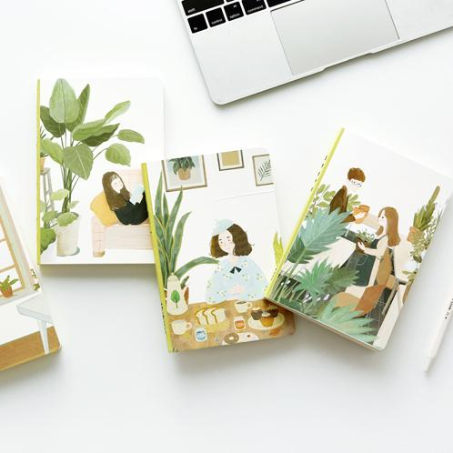 Natural Breath Cover Journal Randomly Picked Set of 2 - G Home Collection