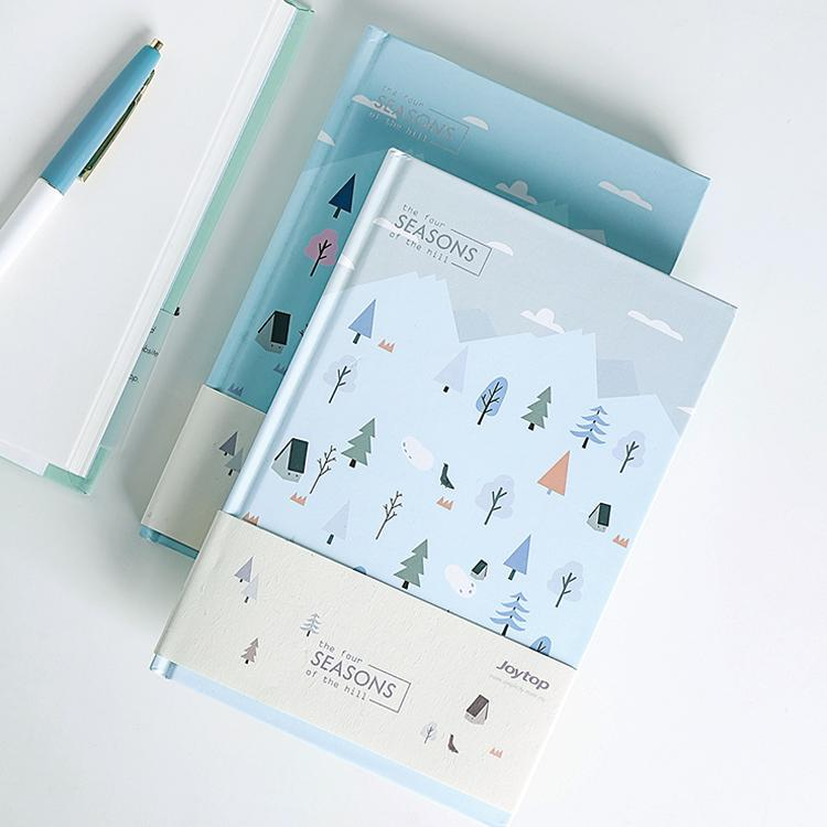 Hard Cover Little Tree Memo Book Randomly Picked Set of 2 - G Home Collection