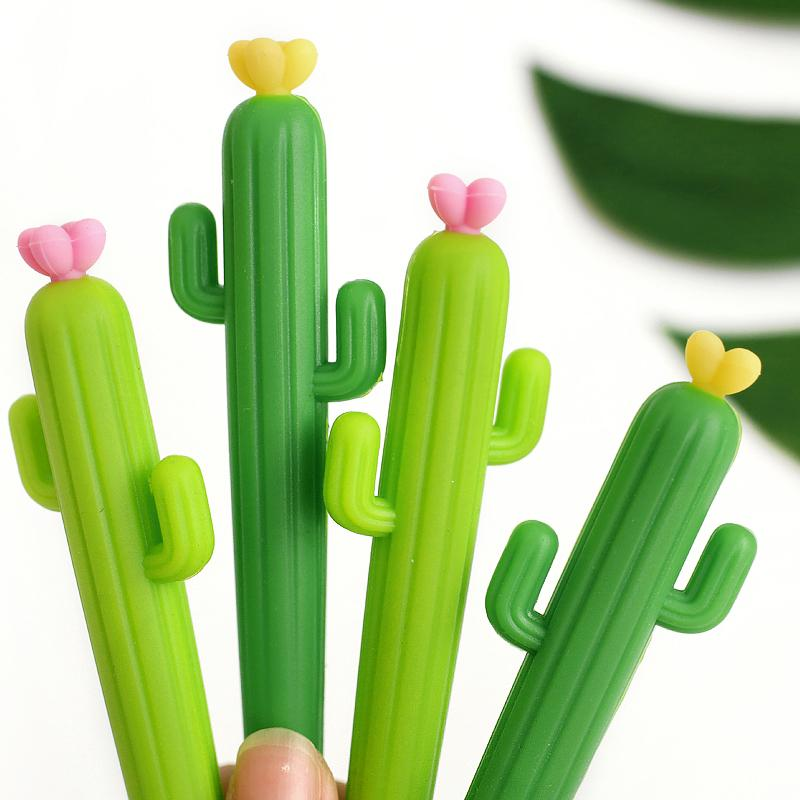 Cactus Rollerball Pen 0.5mm Randomly Picked Set of 6 - G Home Collection