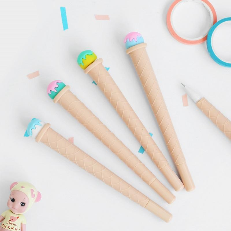 Ice Cream Rollerball Pen 0.5mm Randomly Picked Set of 8 - G Home Collection