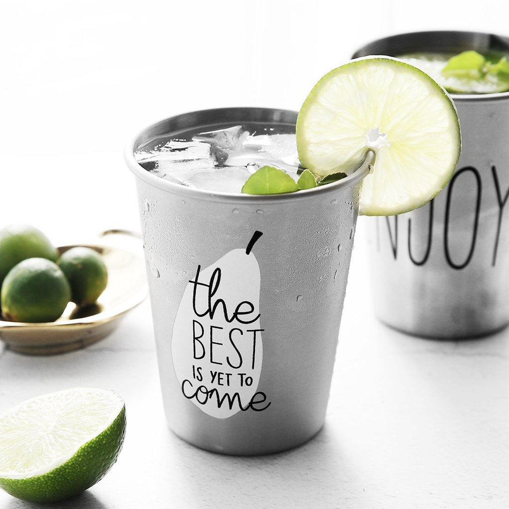 Summer Stainless Cup Randomly Picked Set of 2 - G Home Collection