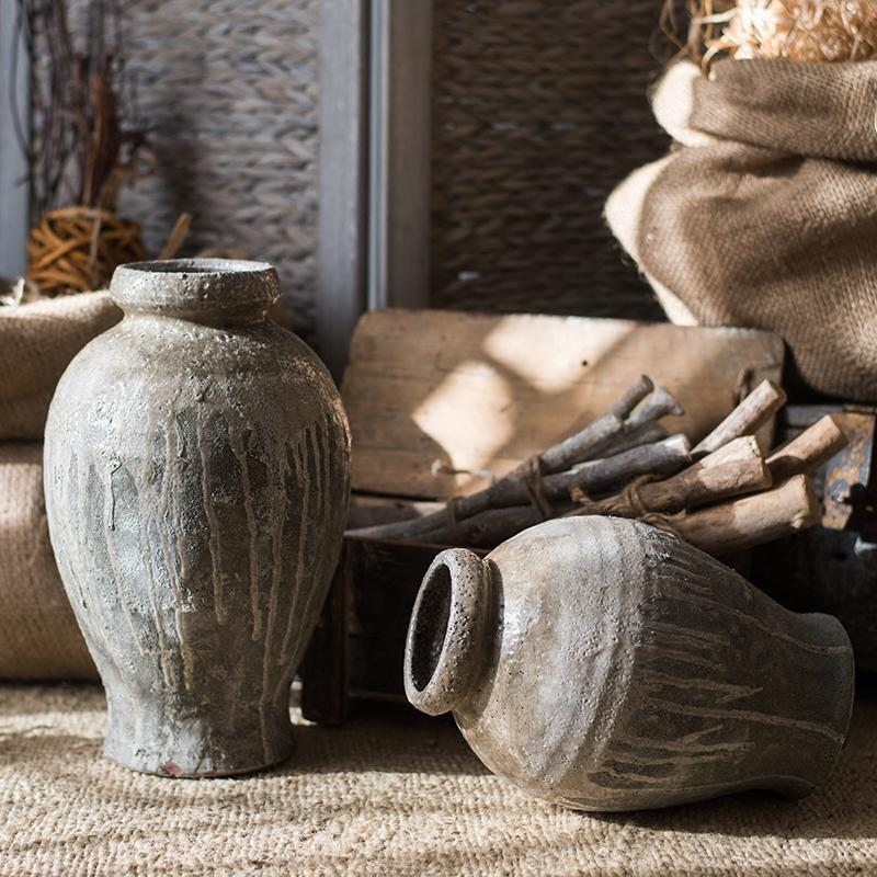 Antique Coarse Pottery - G Home Collection