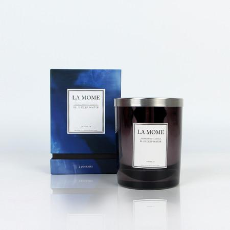 La Mome Blue Deep Water Soy Wax Scented Candle