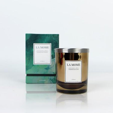 La Mome Jasmine and Ylang Soy Wax Scented Candle - G Home Collection