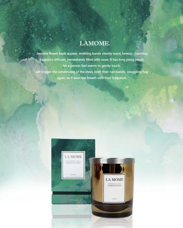 La Mome Jasmine and Ylang Soy Wax Scented Candle