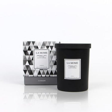 La Mome Vietnam White Florwer Soy Wax Scented Candle - G Home Collection